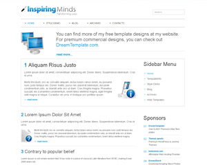 BlankSpace Website Template