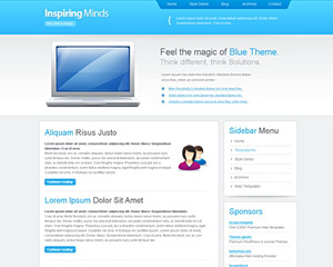 BlueBottle Website Template