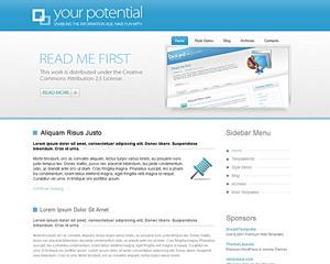 Bluethickline Website Template