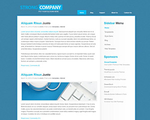 BlueWorld Website Template