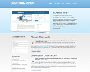 Cleangrad Website Template