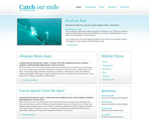 Cyano Website Template