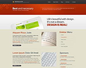 ExpressiveSars Website Template