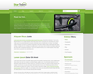GreenStar Website Template