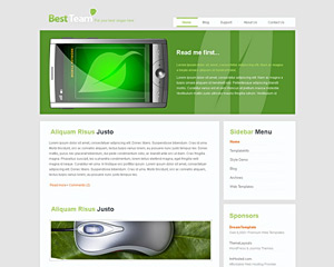 GreenyBox Website Template