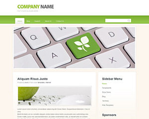 GreenZap Website Template