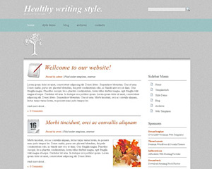 HistoricPaper Website Template