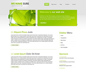 LeafBiz Website Template
