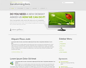 NeutralDesk Website Template