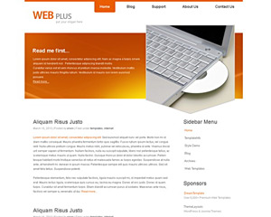 OrangeFocus Website Template