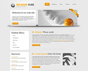 SilverLining Website Template