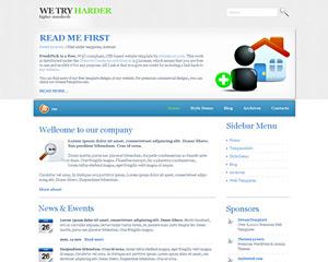 SilverSide Website Template