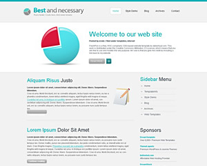 TopBusiness Website Template